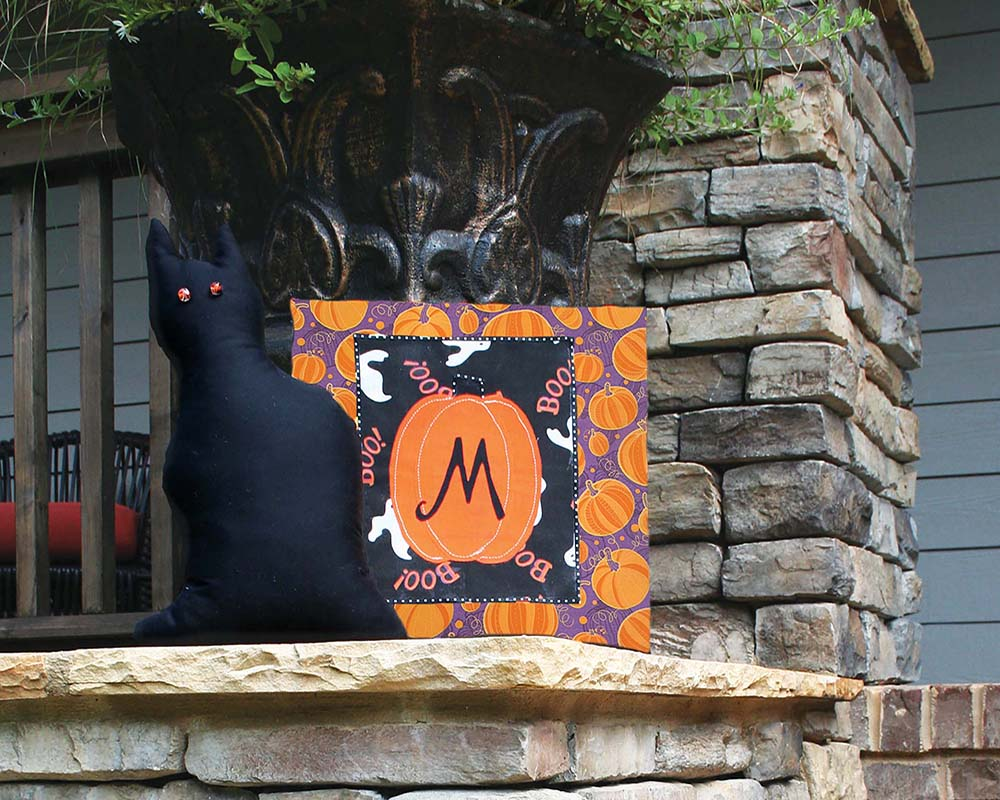 Fall and Halloween - Mantle piece